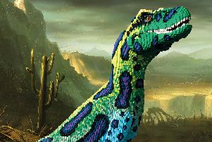 LEGO Dinosaurs are coming to Marwell Zoo. Picture: Marwell Zoo