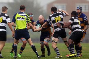 Gosport & Fareham beat Farnham at home and want a repeat of that success. Picture: Chris Moorhouse
