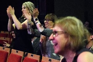 Members of the audience cheer on a winner at The Guide Awards 2017. Picture: Keith Woodland