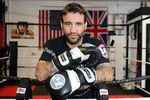 Tony Oakey's set for a return to the ring against American star Jeff Lacy on December 15. Picture: Sarah Standing.