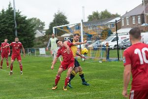 Moneyfields were happy to take a point. Picture: Vernon Nash