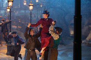 Mary Poppins Returns, starring Emily Blunt, will be in cinemas on December 21.