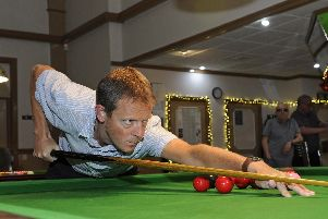 Andy Boulton. Picture Ian Hargreaves  (181125-1_snooker)