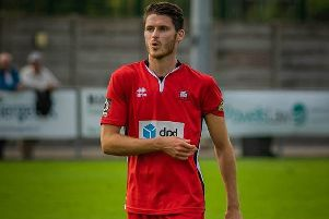 Tom Gardiner had a day to forget at Woking