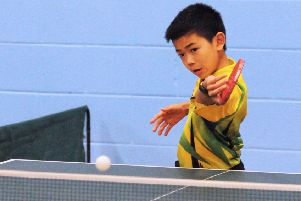 Christopher Ho continued his climb up the rankings.