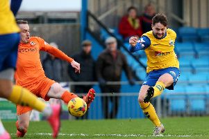 George Barker has helped Gosport Borough start to look up again. Picture: Chris Moorhouse