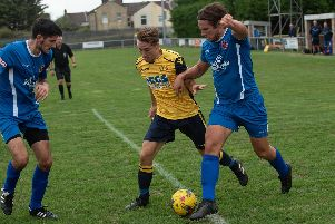 Conor Bailey netted to help Moneyfields get another good win. Picture: Vernon Nash