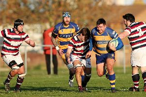 Gosport & Fareham got into a good position but couldn't make it count. Picture: Chris Moorhouse