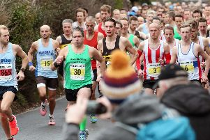 The start of the Stubbington 10k. Picture: Chris Moorhouse