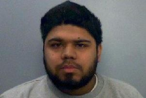 Salim Wakil, 25, from Fleet, in Hampshire who has been found guilty of funding terrorism in Syria after he arranged the transfer of $3,000 via Western Union for his sister, Sumaiyyah, who had left home and travelled to Syria in 2014. She married Mehdi Hassan, from Portsmouth, who was killed fighting in Syria in October 2014 'Picture: Thames Valley Police/PA Wire