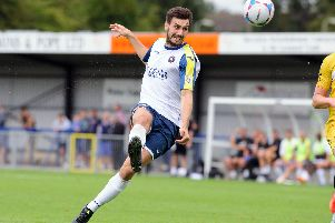 Striker Matt Paterson has rejoined the Hawks. Picture: Allan Hutchings