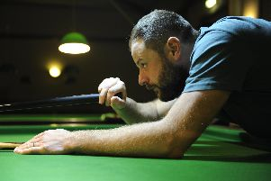 Craneswater's James Sorrell. Picture Ian Hargreaves  (181125-1_snooker)