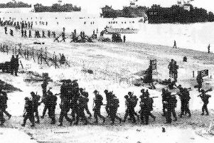 No, not the D.Day beaches of Normandy but Fox Red beach, Hayling Island.
