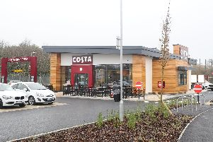 Brockhurst Gate Retail Park in Gosport is home to Costa, Home Bargains, M&S and more. Picture: Sarah Standing (050219-8476)