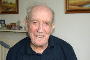 Adam Macleod, 100, of Gosport, who has spoken about his wartime experiences.