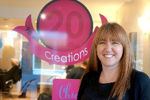 Emma Shepherd, manager of Creations Hair Salon