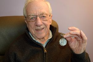 Frank Money, 86, of Lavender Road, Waterlooville, has told of his delight after a good Samaritan returned his war medal which was stolen more than 30 years ago.