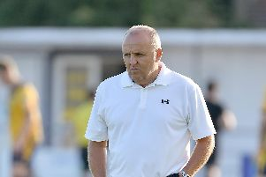 Louis Bell is back with Gosport Borough. Picture: Neil Marshall (180704-013)