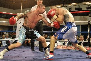 Garry Neale is out to pull off a massive upset against James Tennyson