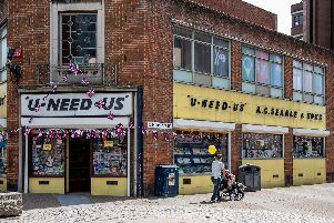 U-Need-Us, in Arundel/Slindon Street in the centre of Portsmouth. Picture: Vernon Nash (180396-001)