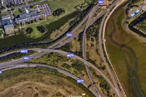 M275 bus from Google Earth