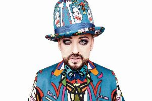 Boy George will perform at South Central Festival in Portsmouth. Picture: South Central Festival
