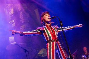 The Bowie Experience will be at the Kings Theatre, Southsea, on Friday.