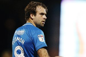 Pompey striker Brett Pitman. Picture: Joe Pepler