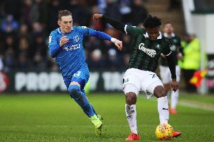 Pompey drew at Plymouth last time out in League One. Picture: Joe Pepler