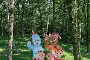 In the Night Garden Live will be at the Kings Theatre on April 13 and 14.