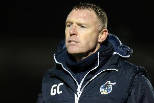 Bristol Rovers manager Graham Coughlan Picture: Pete Norton/Getty Images