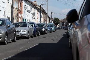 One of many Southsea streets where parking is at a premium Picture: Chris Moorhouse