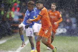 Luton have extended their gap over third-placed Pompey in the League One promotion race. Picture: Joe Pepler