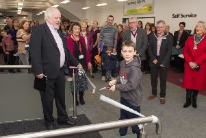 Last month's re-opening of Aylesbury Library