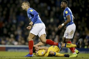 James Vaughan has been accused of an alleged punch on Tom Lockyer.  Photo by Robin Jones/Digital South.