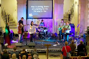 Churchgoers use a variety of musical styles to worship God