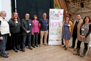 Be the Change launch event, Chichester February 2019. Southern News & Pictures.