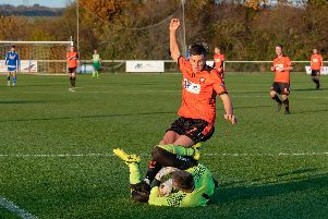AfC Portchester are targeting a win against Fareham Town. Picture: Vernon Nash