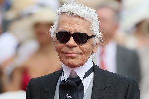 Fashion designer Karl Lagerfeld who has died of pancreatic cancer aged 85