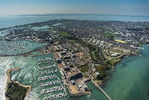 It has been unseasonably warm in Gosport today. Picture: Shaun Roster