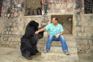 Paul Cassar is the dentist with a difference, who has worked with rescued bears in India.