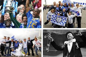 Pompey's triumphs and defeats at Wembley