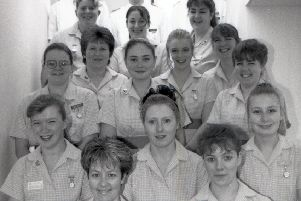 The newly qualified nurses of 1994.