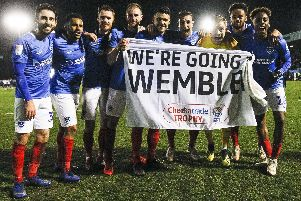 Pompey are going back to Wembley. Photo by Daniel Chesterton/phcimages.com