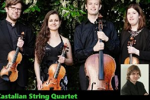 Castalian Quartet with Daniel Lebhardt