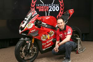 Alastair Seeley will ride the PBM Ducati Panigale V4 R at the North West 200.