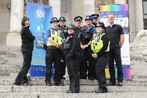 The relaunch of Portsmouth police's Lesbian and Gay Liaison Officers unit 'Picture: Habibur Rahman