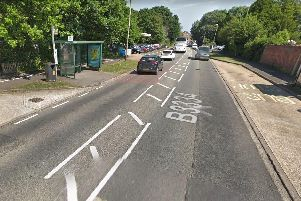 Rowner Road, Gosport, where the man was assaulted. Photo: Google