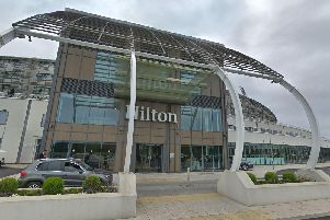 Hilton at Ageas Bowl. Picture from Google Maps.