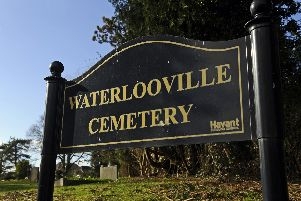 Waterlooville Cemetery. Picture: Malcolm Wells (180202-5150)